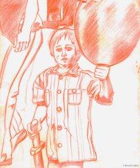 L'enfant qui vole (chantier)