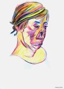 Berthe (crayons et pinceau - 2)