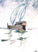 'Y a l'bateau... (croquis)