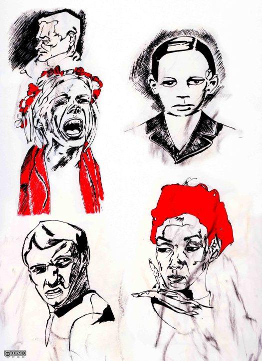 Doodling (portraits-2)