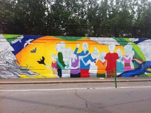 Collectif murale (2 Juillet 2013-1)