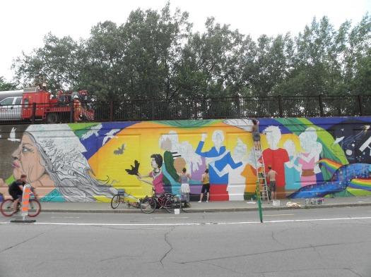 Collectif murale (3 Juillet 2013-1)