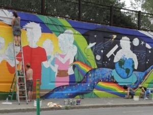 Collectif murale (3 Juillet 2013-2)