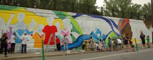 Collectif murale (26 Juin 2013-1)