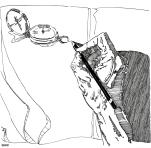 Illustration pour le « Guide de survie de l'illustrateur » (http://www.illustrationquebec.com/guide-de-survie)