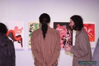 Vernissage de l'exposition collective à l'occasion du 30ème anniversaire d'Illustration Québec