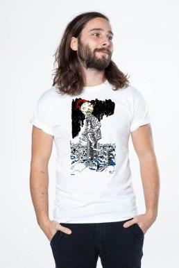 T-shirt disponible sur Mister Dress-Up (http://www.misterdressup.com/) en collaboration avec l'Acceuil Bonneau (http://accueilbonneau.com/fr/)
