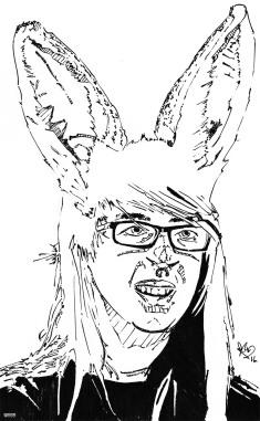 Amie, un portrait pour une artiste que je côtoie www.facebook.com/shana.patry.artiste