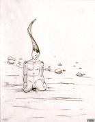 Maquette (crayon « Méditation ») - 1-B