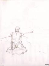 Maquette (crayon « Méditation ») - 1-A