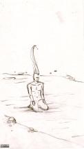 Maquette (crayon « Méditation ») - 2-B
