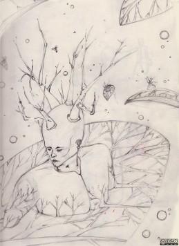 Fleuri (Inkweek-Janvier)