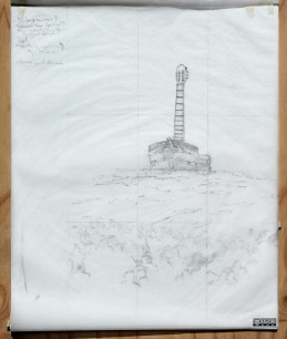 Maquette (navire - graphite)